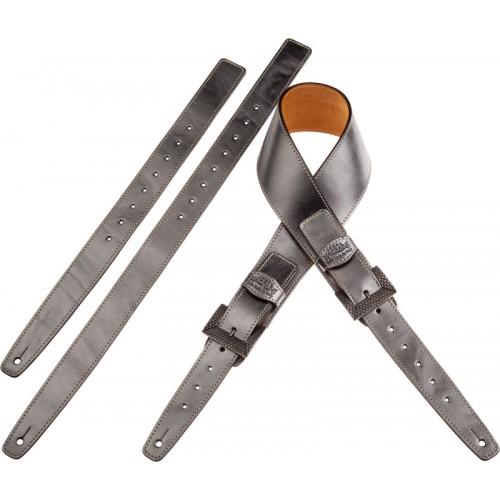 Twin Buckle TS Metallic Steel 7 cm fibbie Scaled Argento