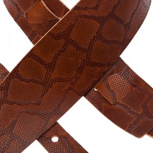 Holes HC Embossed Snake Marrone 8 cm