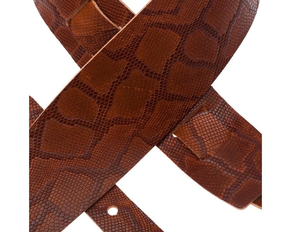 Holes HC Embossed Snake Marrone 8 cm