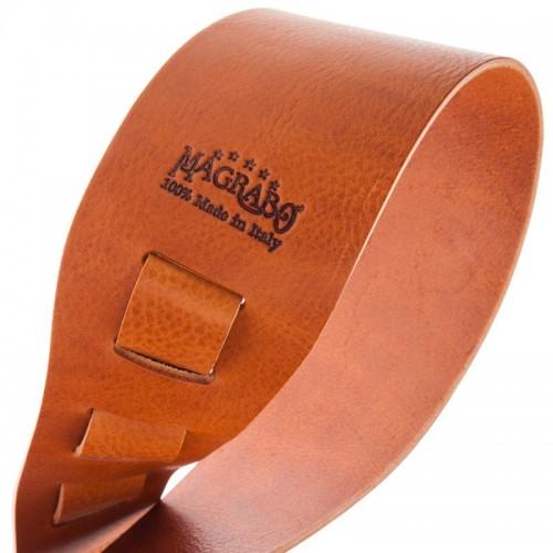 Magrabò Guitar Straps HC Core Marrone 8 cm