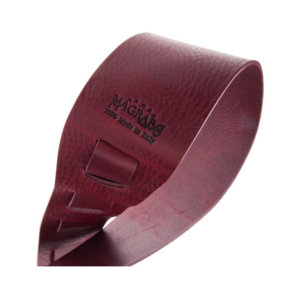 Magrabò Guitar Straps HC Core Bordeaux 8 cm