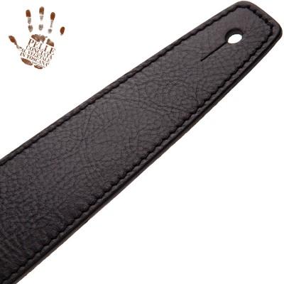 Stripe SS Core Nero 6 cm fibbia Recta Argento