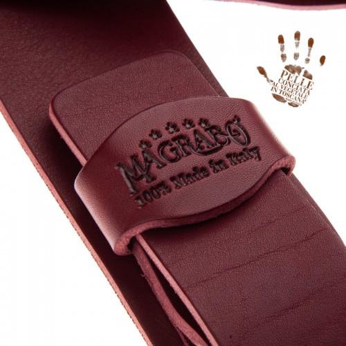 Twin Buckle TC Core Bordeaux 7 cm fibbie Classic Argento