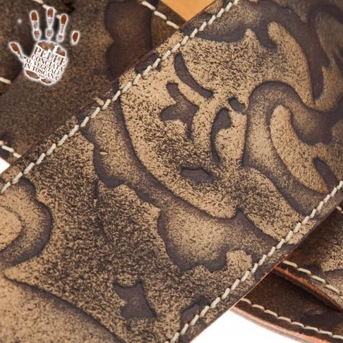 Holes HS Embossed Grifo Bronzo 6 cm