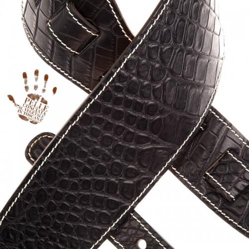 Holes HS Embossed Cocco Pros Nero 10 cm