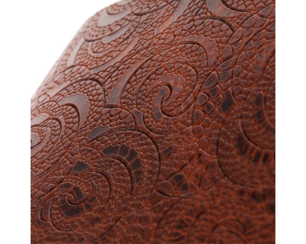 Holes HC Embossed Ciler Marrone 10 cm