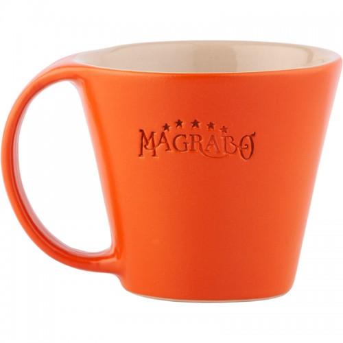 MUG Magrabò tazza in Grès Arancio by Ceramiche Bucci