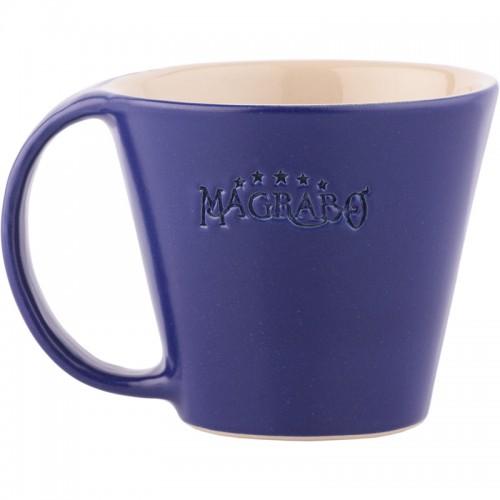 MUG Magrabò tazza in Grès Blu by Ceramiche Bucci