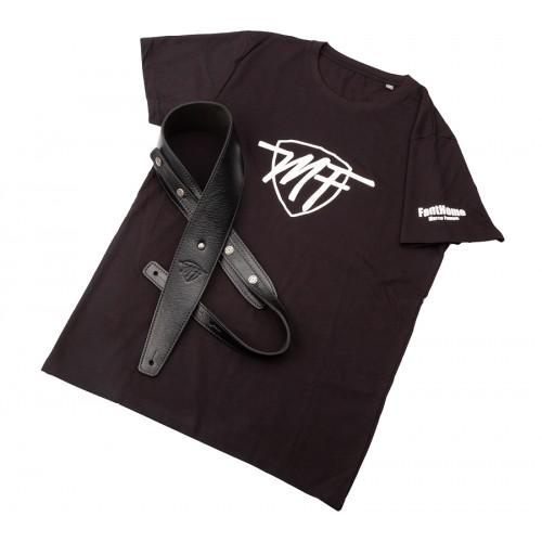 Gift Box MF Marco Fanton - Signature Marco Fanton BS Core Nero 7 cm e T-Shirt MF Marco Fanton
