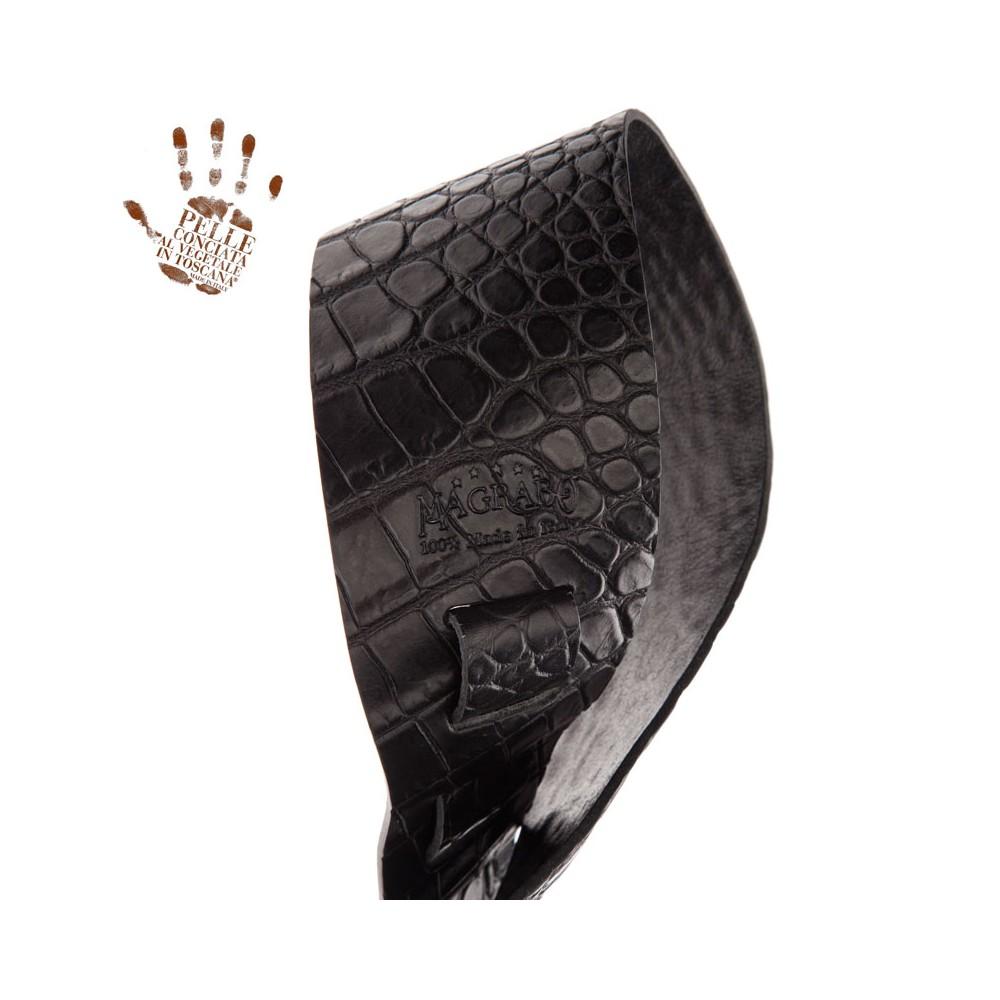 Holes HC Embossed Cocco Pros Nero 8 cm