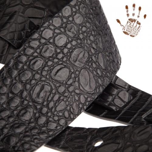 Holes HC Embossed Cocco Pros Nero 10 cm
