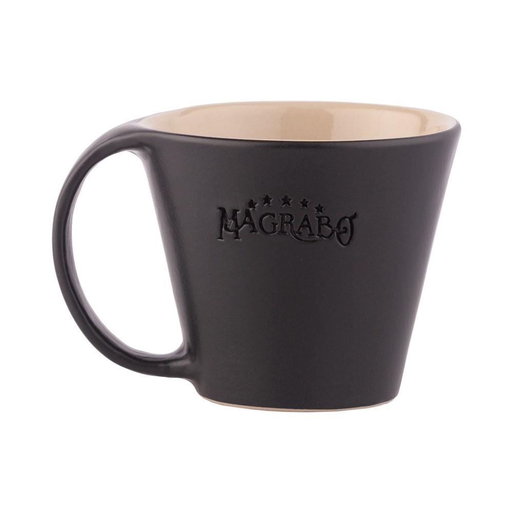 MUG Magrabò Nero tazza in Grès by Ceramiche Bucci