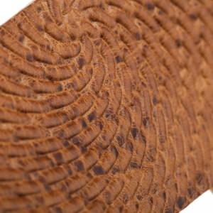 Holes HC Embossed Swivel Marrone Chiaro 6 cm