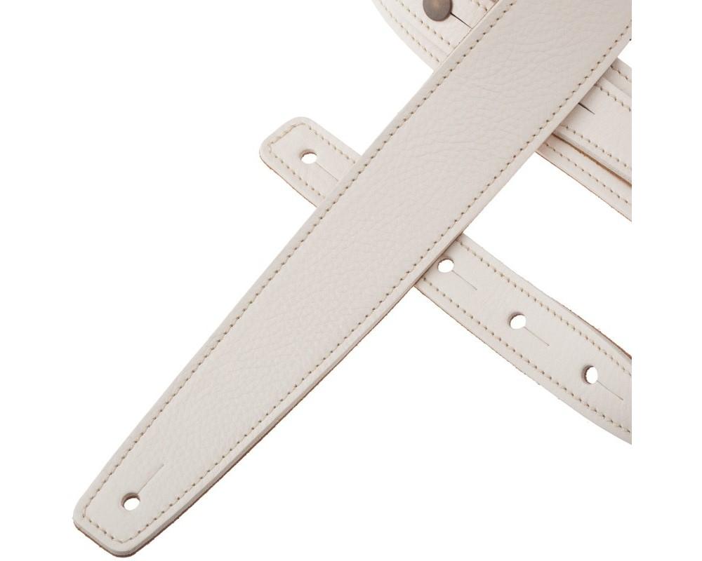 Tracolla per chitarra e basso Magrabò Buttons BS Core Bianco 5 cm