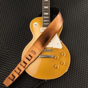Holes HC Metallic Bronze 10 cm & Gibson Les Paul Gold Top