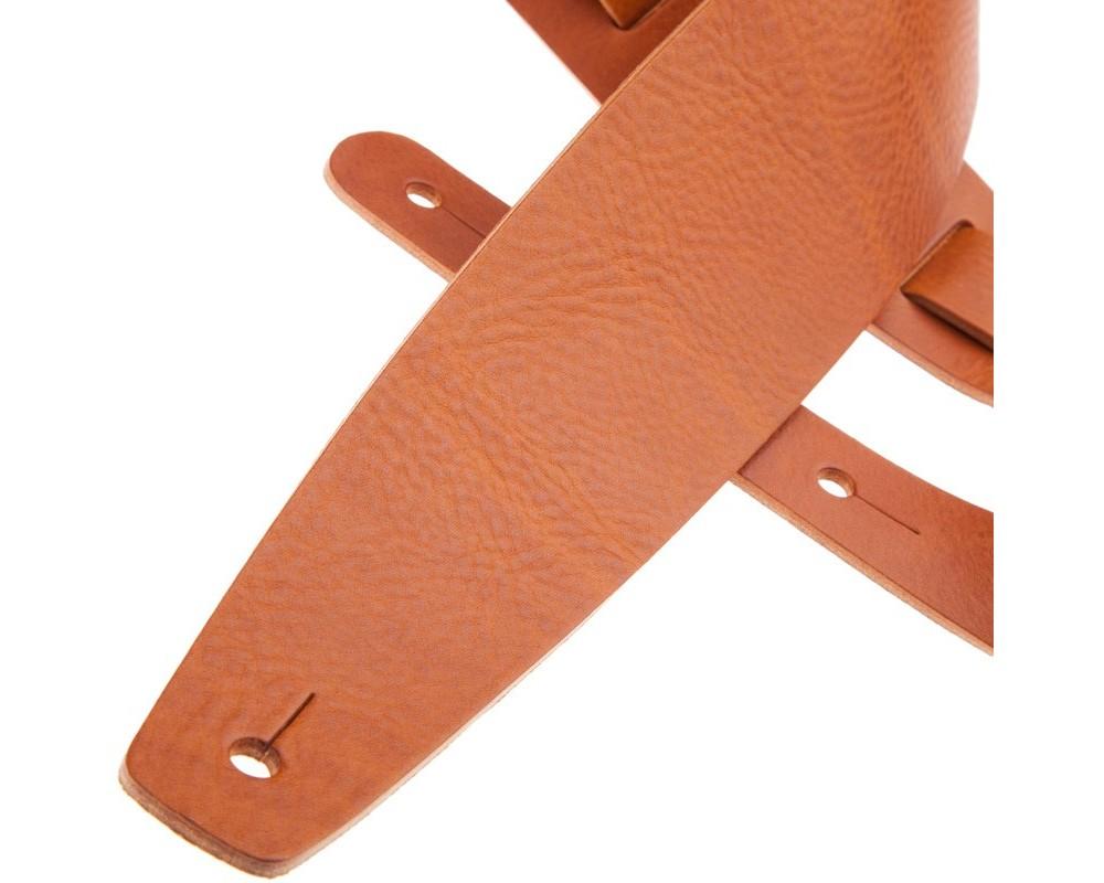 Tracolla per chitarra e basso in pelle Holes HC Core Marrone 8 cm