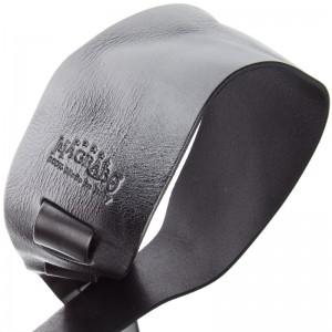 Tracolla per chitarra e basso in pelle Holes HC Embossed Metallic Steel 8 cm