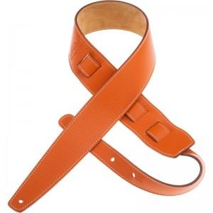 Tracolla per chitarra e basso in pelle Holes HS Colors Pumpkin 6 cm