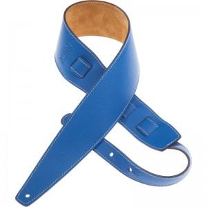 Tracolla per chitarra e basso in pelle Holes HS Colors Blue Limoges 8 cm