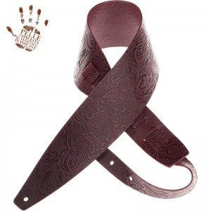 Holes HC Embossed Flores Bordeaux 10 cm