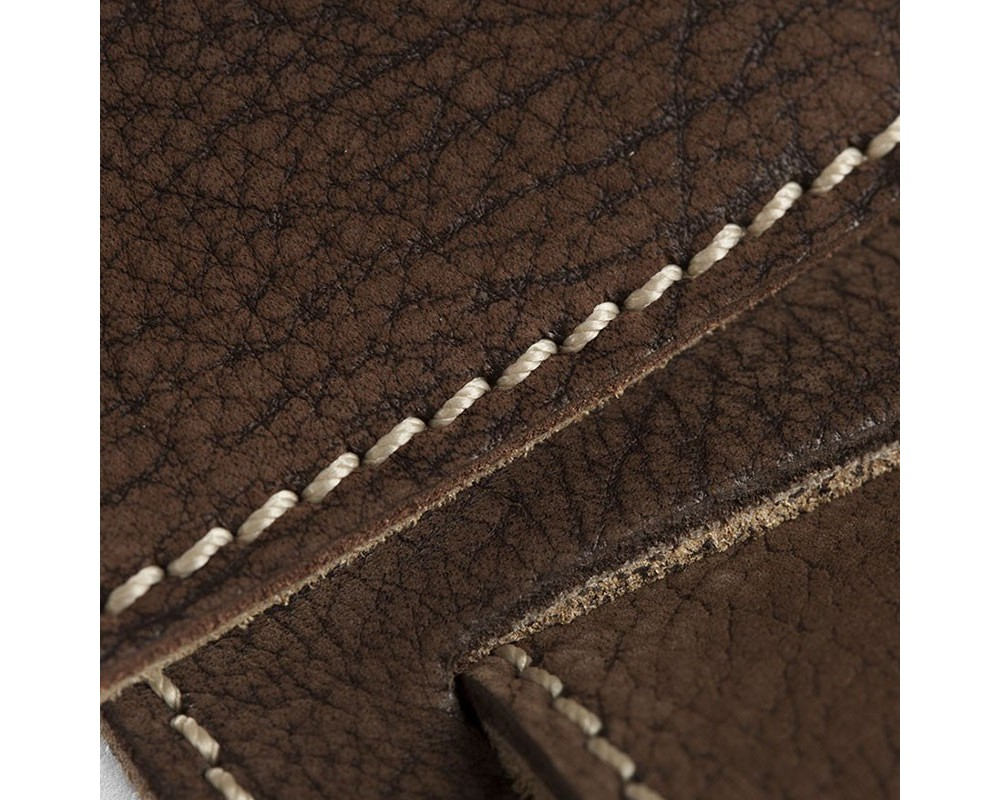 Holes HS Textured Nabuck Tex Marrone 8 cm