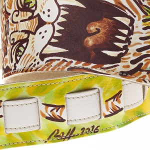 Holes HS Artist Private Stock 005 dipinta a mano da Artista, pezzo unico 10 cm