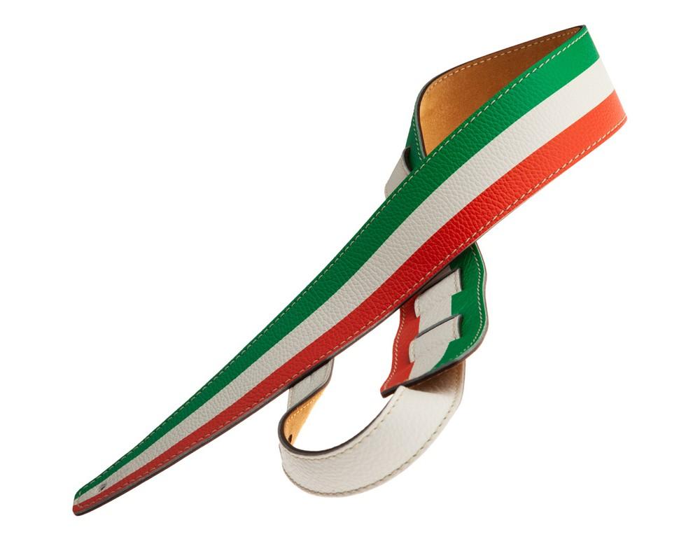 Tracolla per chitarra e basso in pelle Holes HS Print Italia 6 cm