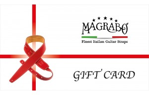 Gift Card Magrabò Guitar Straps
