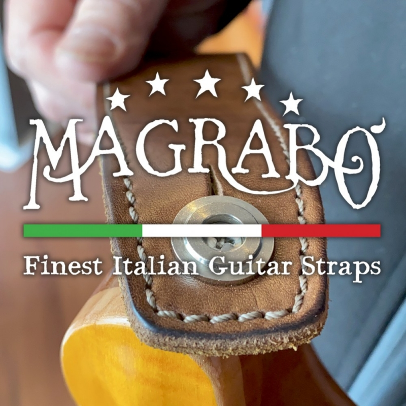 Attach a Magrabò Guitar Straps to your PRS Guitars